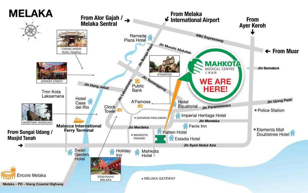 Step by Step Berobat ke Mahkota Medical Centre, Melaka 3