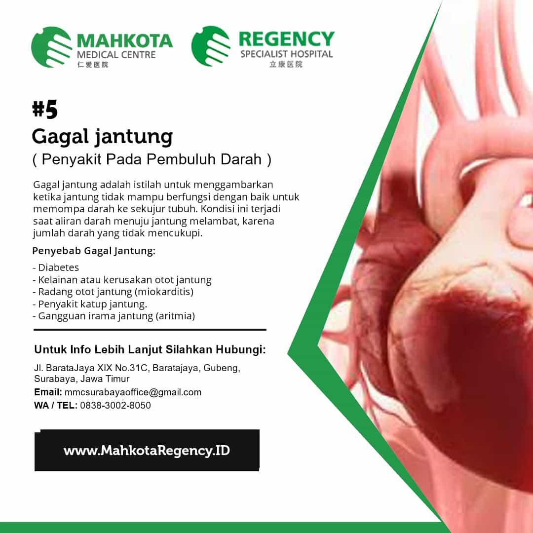 Gejala Penyakit Jantung yang Umum Terjadi Pada Pria / Wanita 5