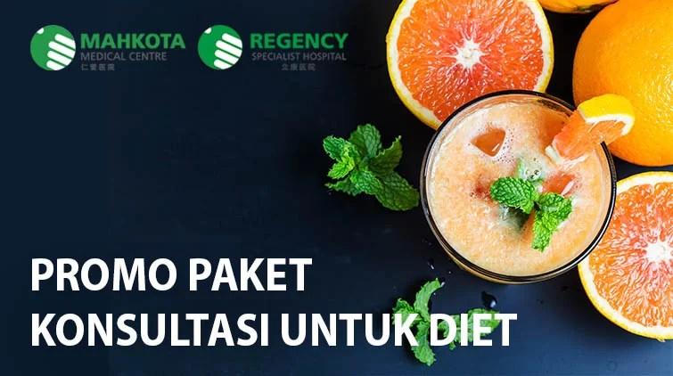 promo paket konsultasi untuk diet mahkota medical centre