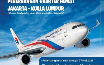 Penerbangan Charter Hemat Berobat Ke Malaysia Bersama Malaysia Airlines
