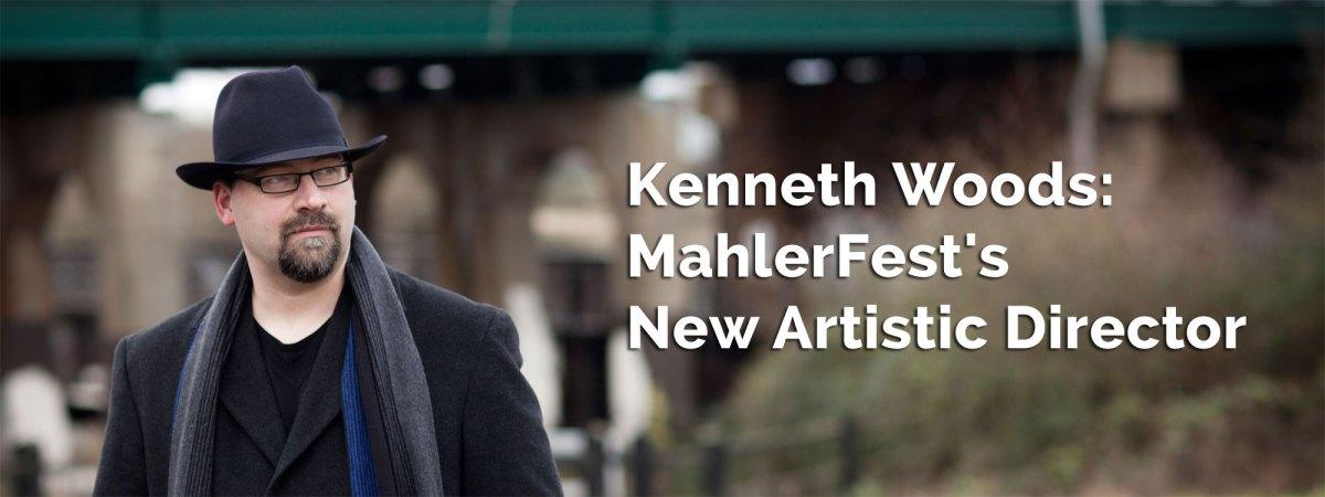 MahlerFest artistic director Kenneth Woods
