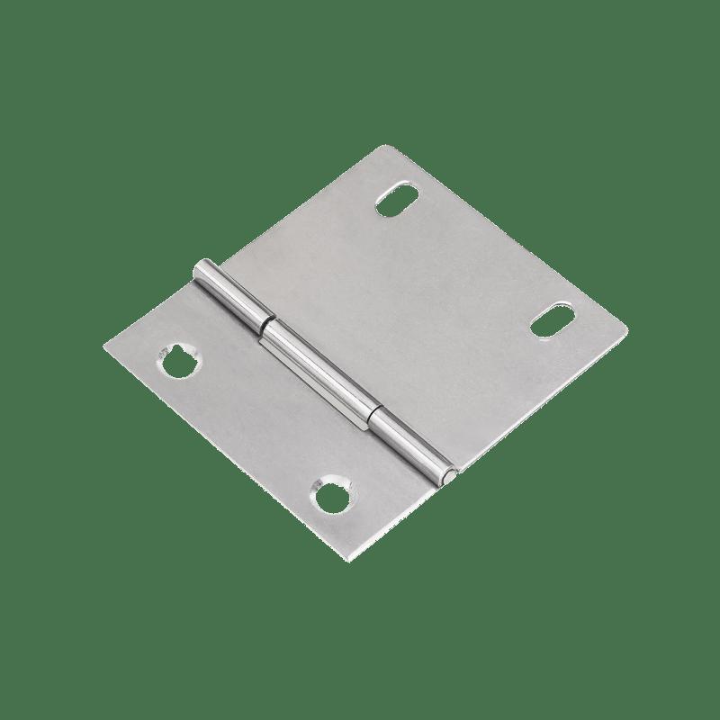 Dobradiça Assimétrica c/ Furo Oblongo