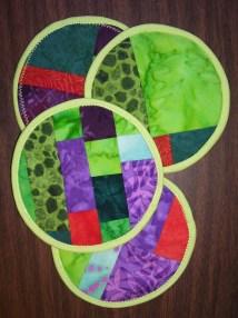 Pieced Coasters