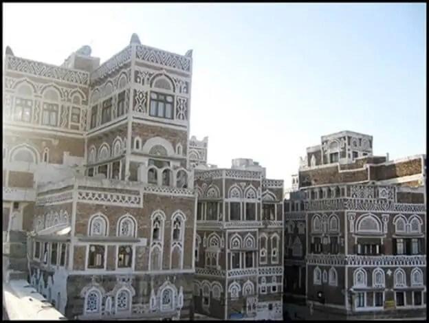 صور ورسومات للزخارف والأحزمة الأصيلة في المباني التاريخية- صنعاء القديمة