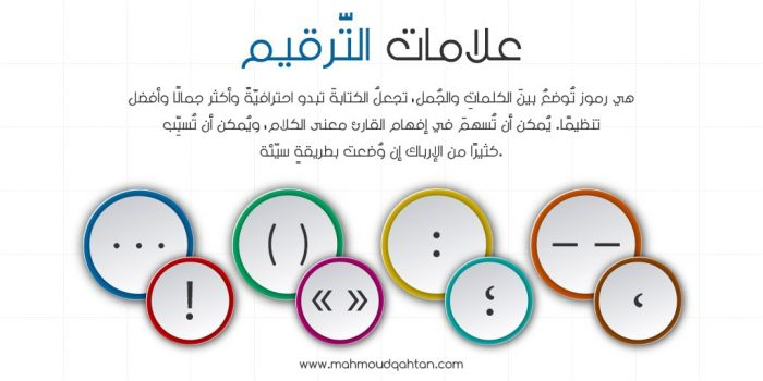 مقدمة عن علامات الترقيم محمود قحطان