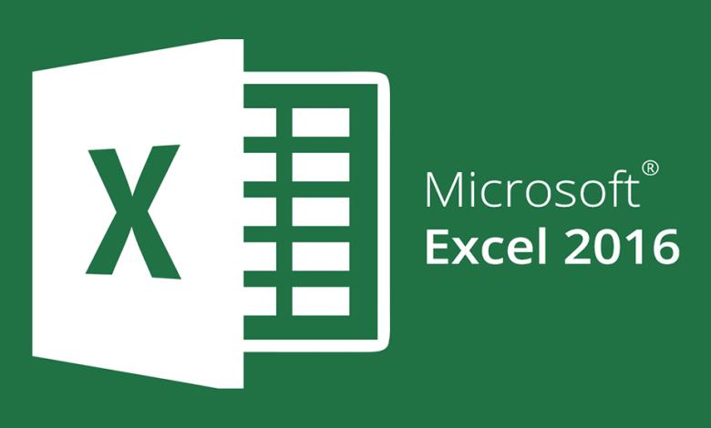 إكسيل 2016 Microsoft Excel