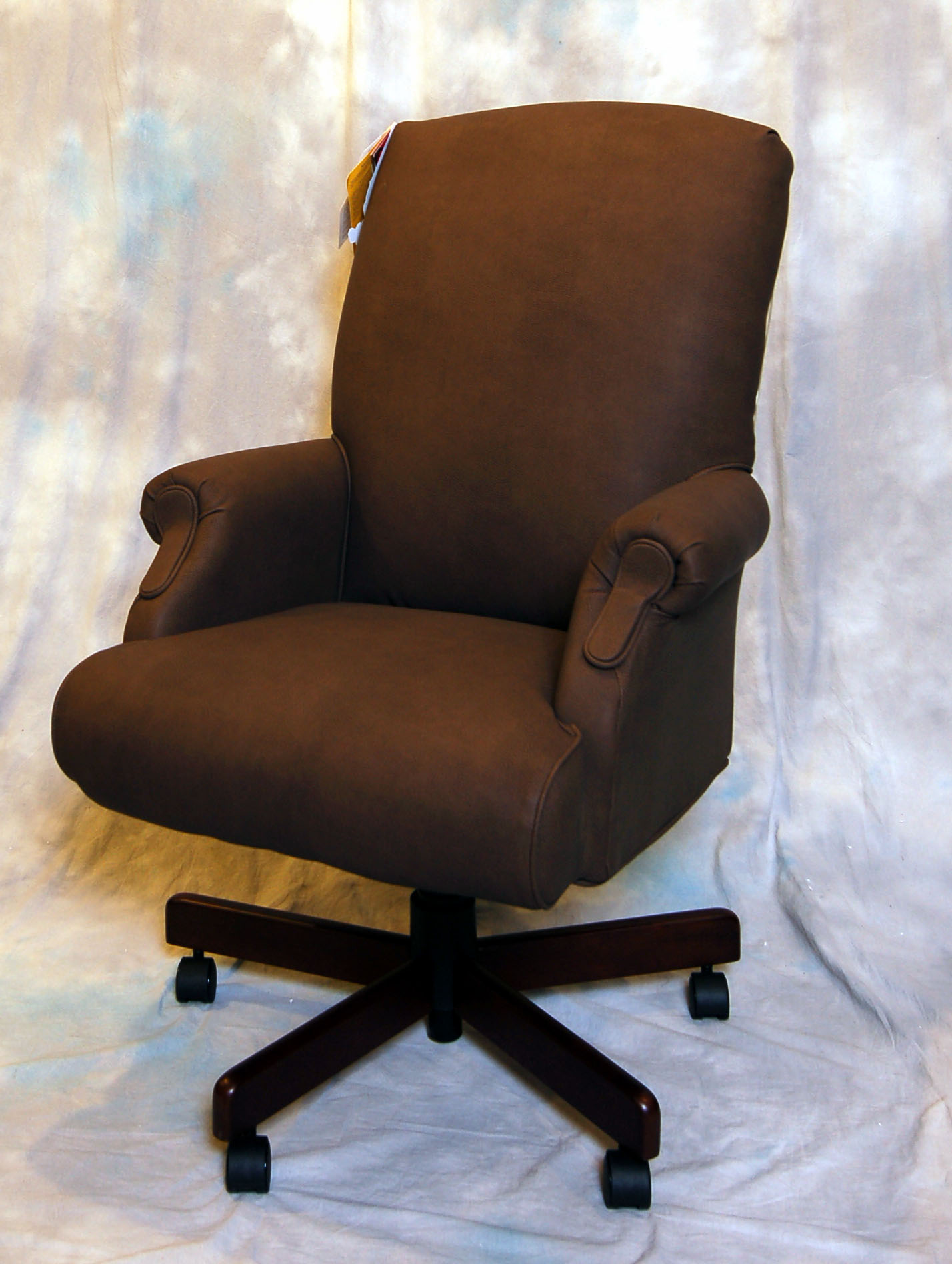 Top Grain Leather Office Chair Top Grain Black Leather Executive Office Desk Chair Ebay
