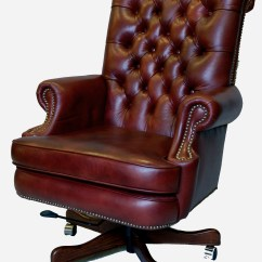 Genuine Leather Chair Alps Mountaineering Getaway Large Executive Office Desk Ebay