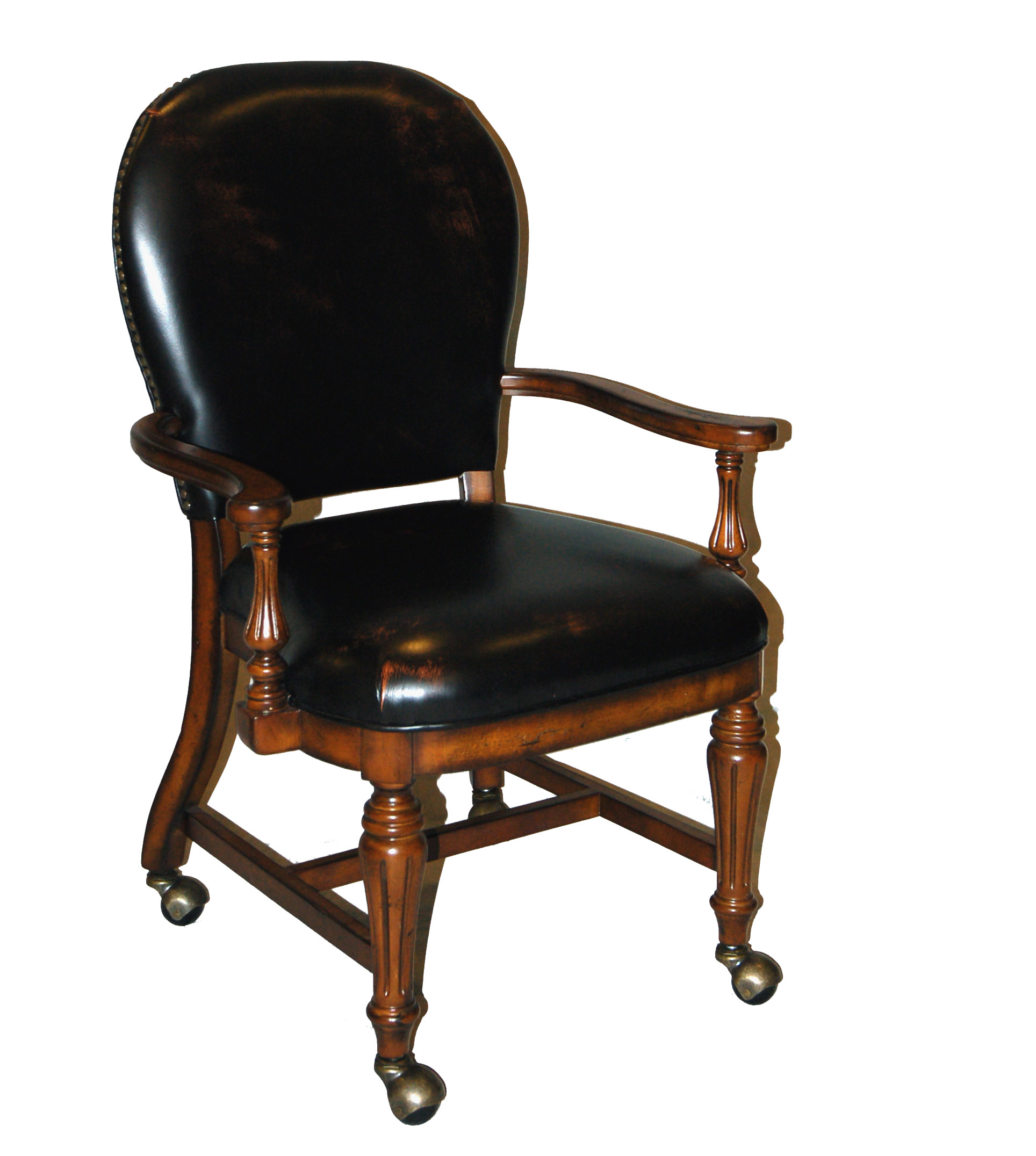 Leather Conference Room Chairs Distressed Genuine Leather Conference Game Chair Ebay