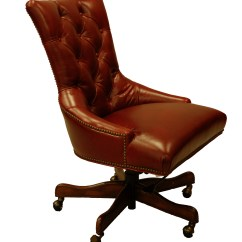 Leather Executive Chair Swivel Bar Chairs Red Office Desk Ebay