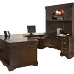 Mahogany And More Desks Beaumont U Shaped Office Desk