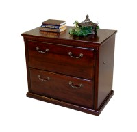 2 Drawer Lateral Office File Cabinet Wooden | eBay