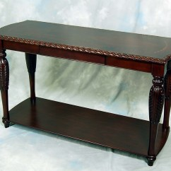 Sofa Table Ebay Furniture Row Carved Brown Mahogany
