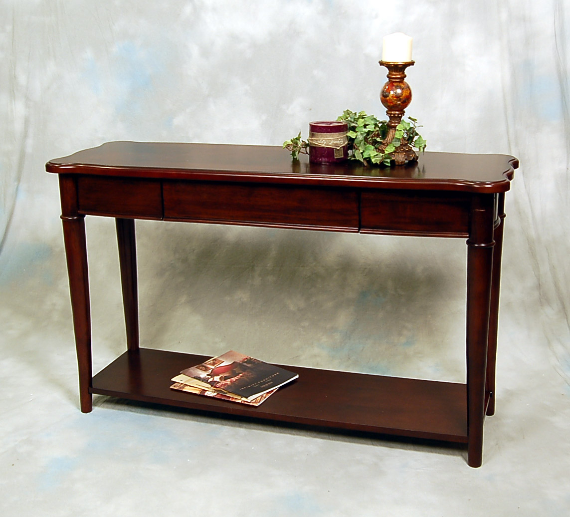 sofa table ebay feather and black bed hazelnut narrow console