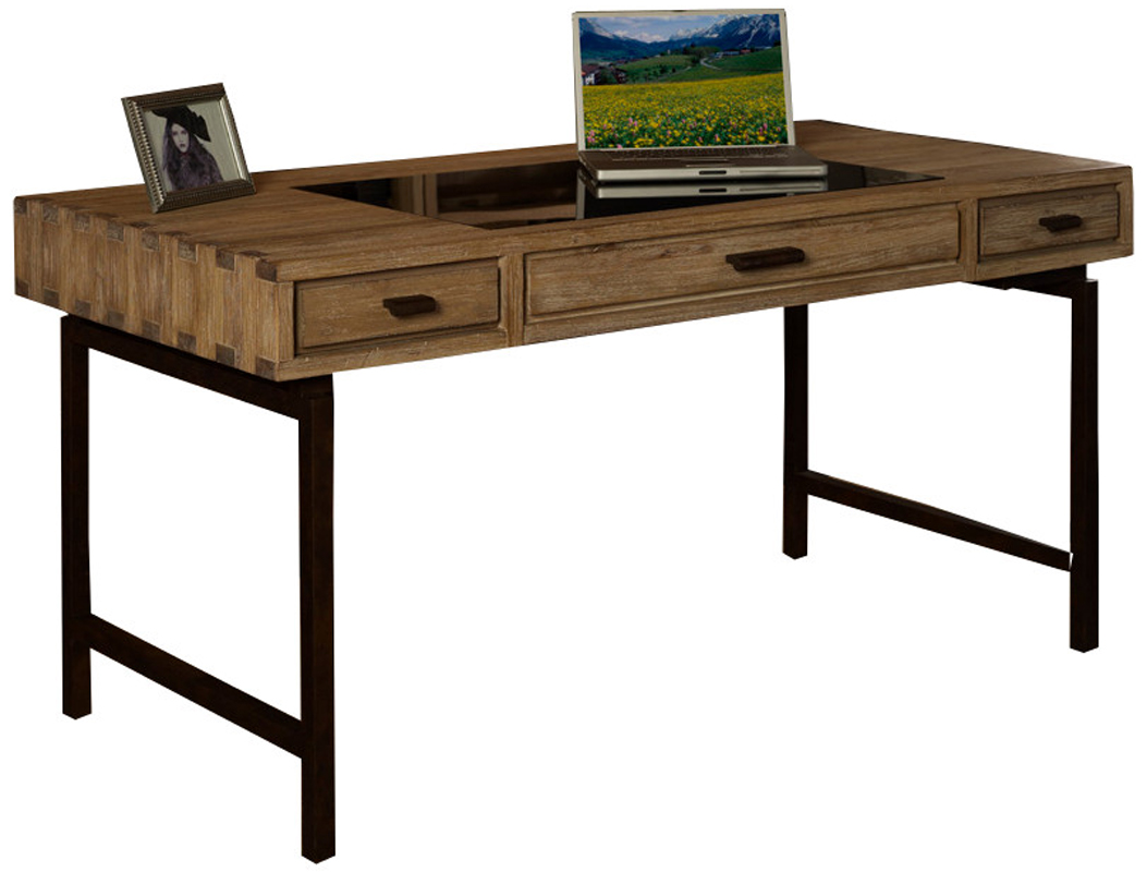 Metro Retro Solid Wood Office Writing Desk Table