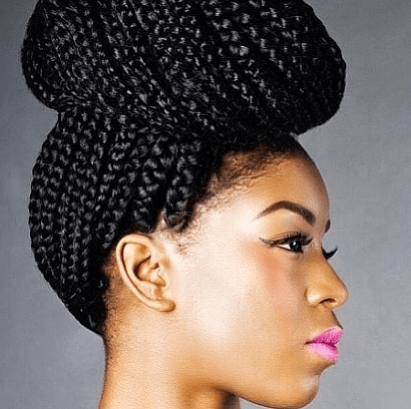 Braids at Mahogany Natural Hair Salon