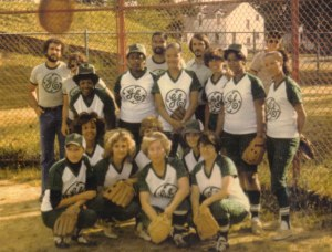 2008-39-184 General Electric Soft Ball Softball team 1976 cropped