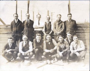 83-58-1 Truscon Steel Baseball Team 1923 Herman C Vogelsang