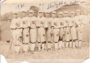 88-89-3-3d Lansingville Slovak Baseball team 1921 with identif