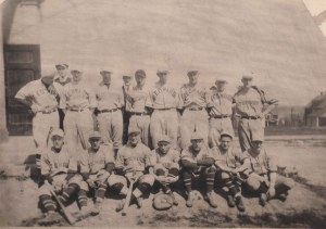 96-2-31 St Edwards Baseball 1921 champs Roy J DePaul 2nd row 4th from left cropped