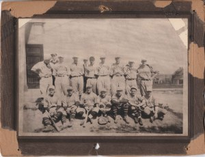 96-2-31 St Edwards Baseball 1921 champs Roy J DePaul 2nd row 4th from left