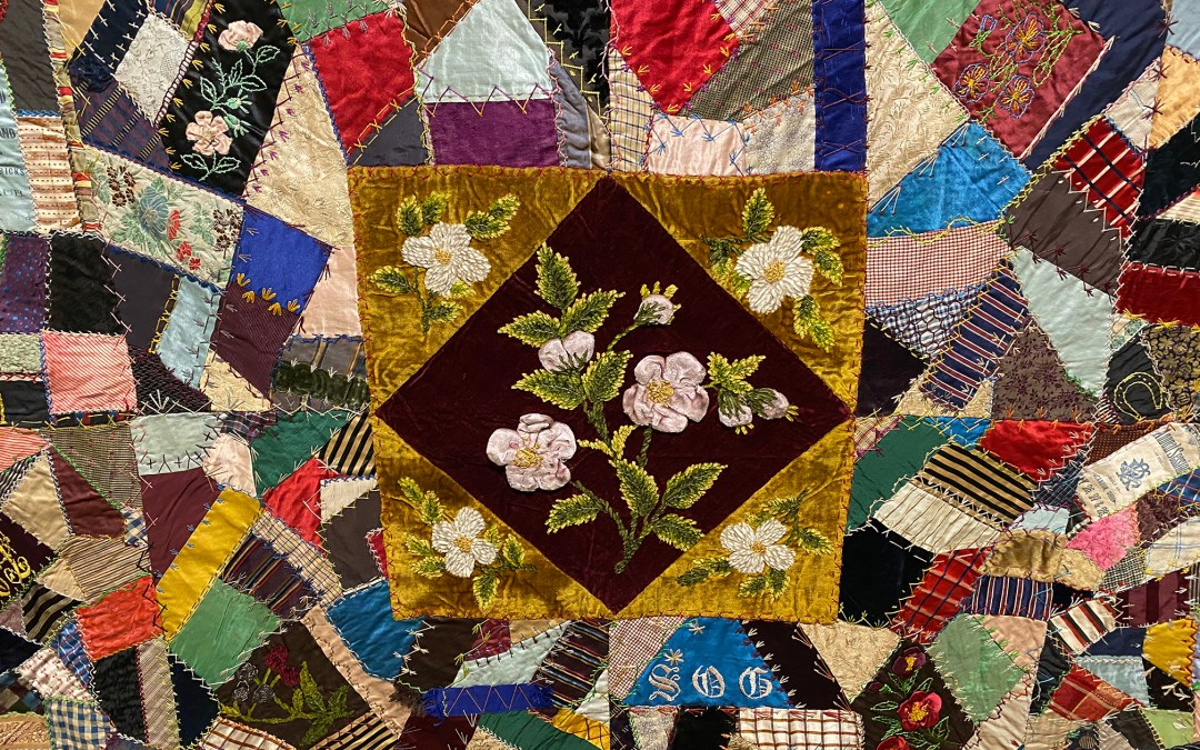 Embellishment and Excess: Victorian Era Crazy Quilts