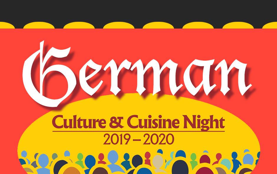 German Culture & Cuisine Night