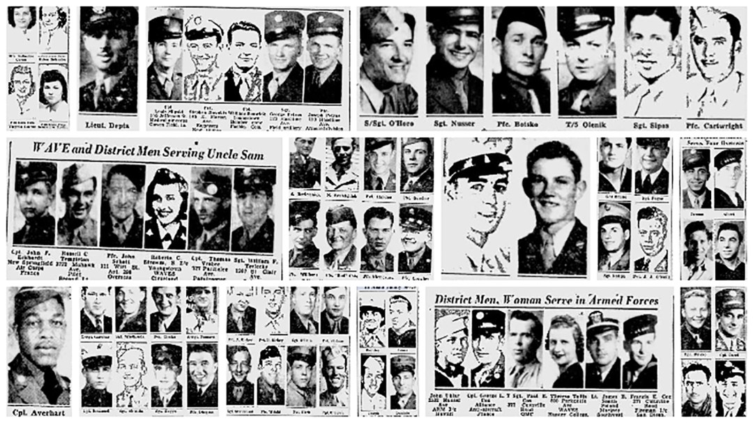 Just a few of Youngstown's WWII Faces