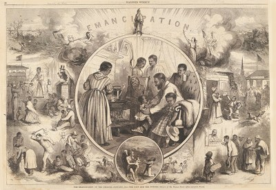 Emancipation of the Negroes–The Past and the Future; Harper's Weekly, January 24, 1863