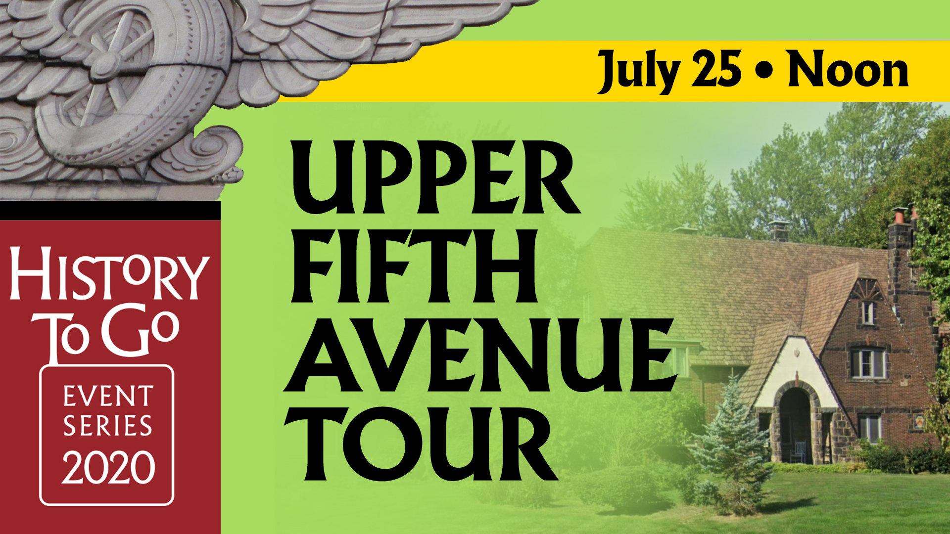 History To Go: Upper Fifth Avenue Tour