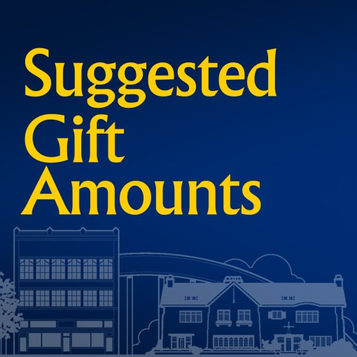 Donate from Suggested Gift Amounts