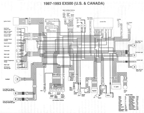 small resolution of kawasaki ex 500 wiring diagram