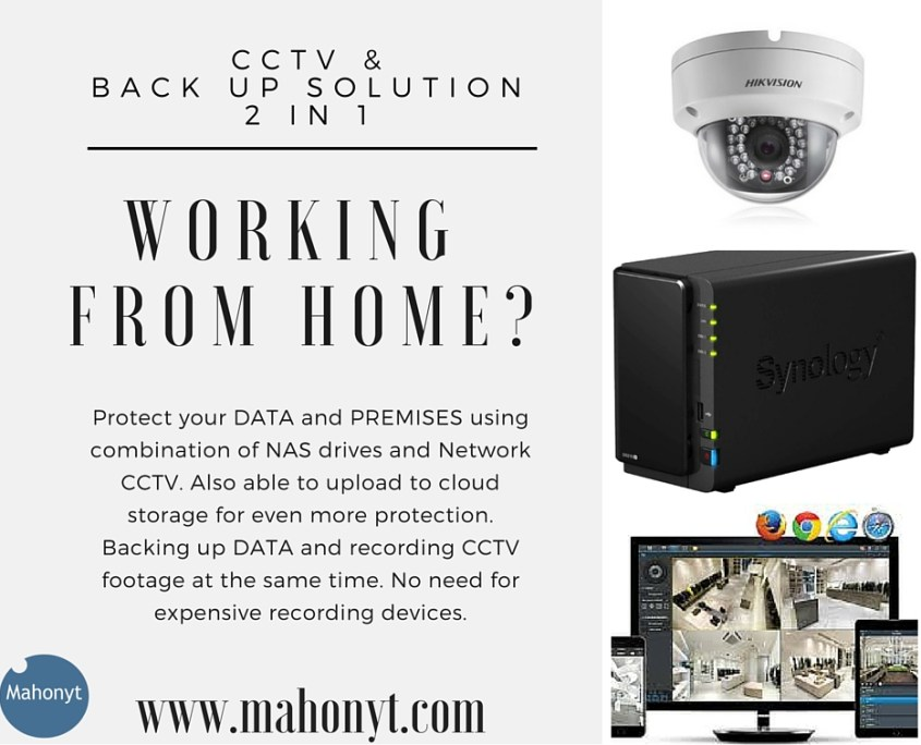 CCTV NVR and Backup Solution Combo » Mahonyt