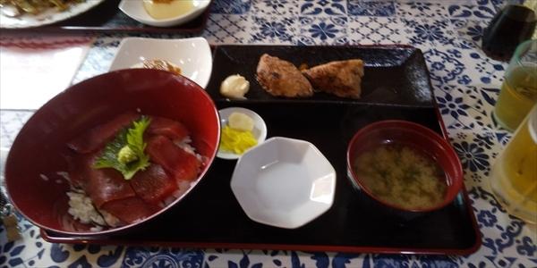 マグロ定食