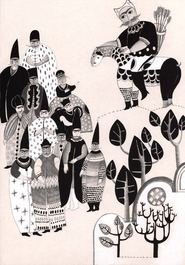 Pahlevan Goudarz & Flying Carpet