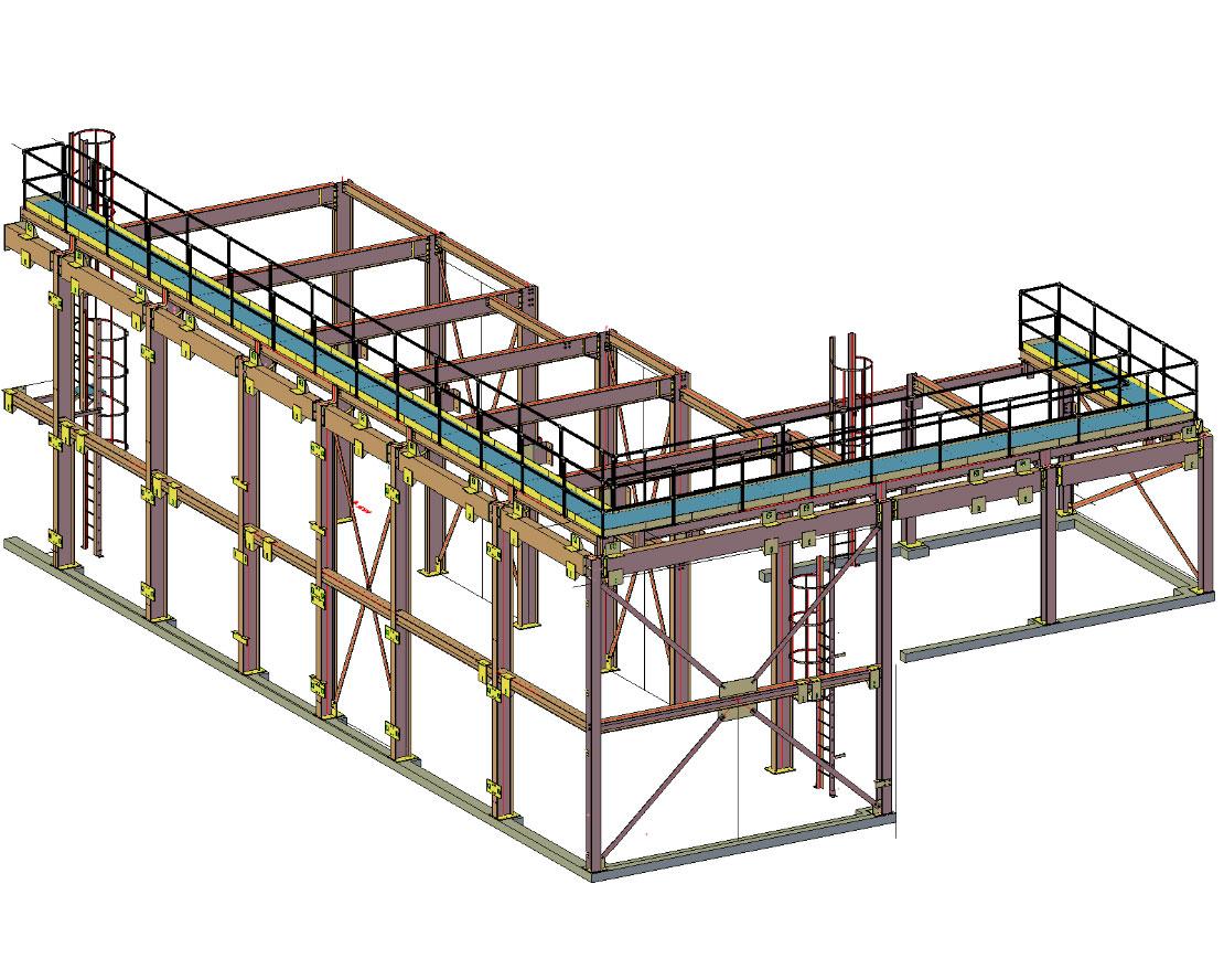 3D & general arrangement, drawing production image