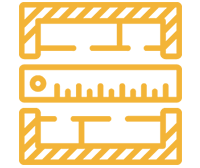 Full steel site survey and consultation icon