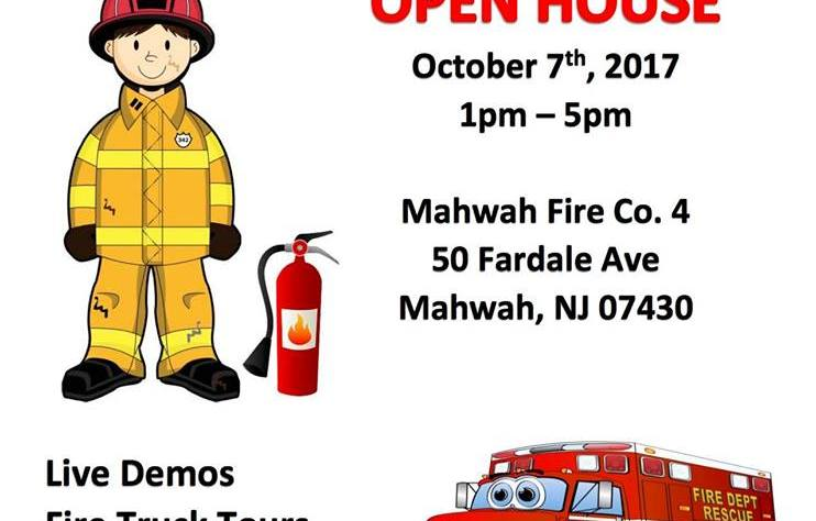10/7/17 – 2nd Annual Fire Prevention Day @ Mahwah Fire Company 4