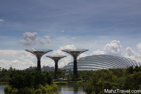 Supergrove trees, glassdone, harbour, promenade, Singapore