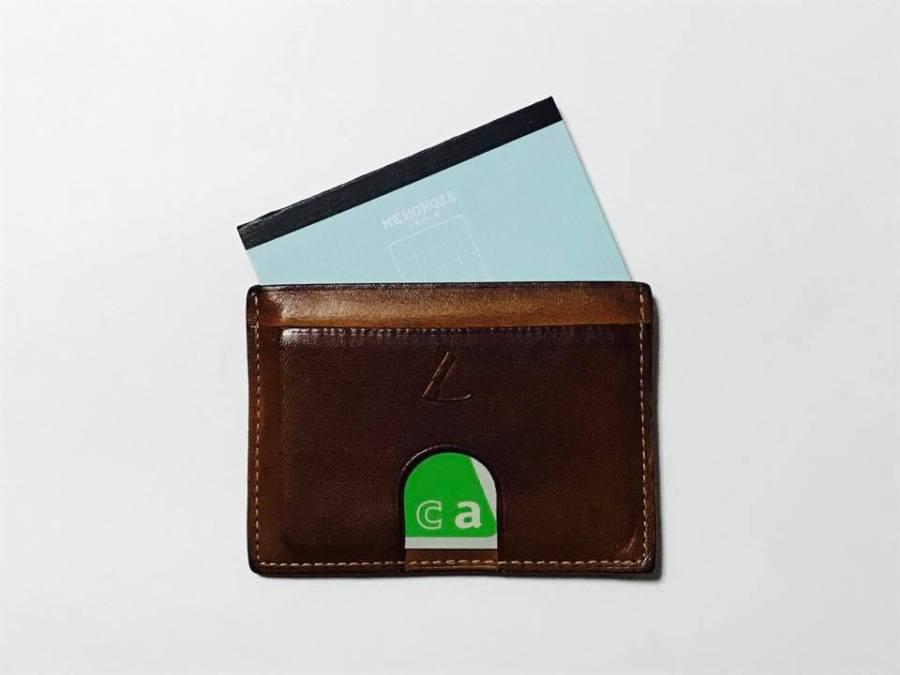 パスケースや名刺入れにも入るちいさなメモ帳「メモローゼ カードサイズ」