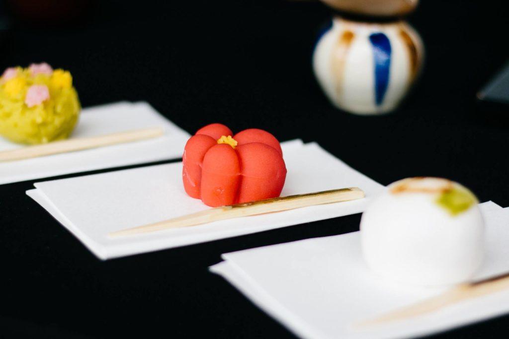 Japanese sweets making and Tea Ceremony in Tokyo Shinjuku