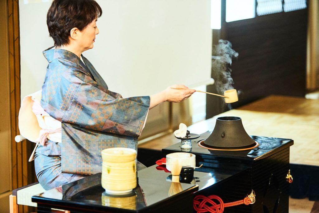 Tea Ceremony in Tokyo with Kimono Experience