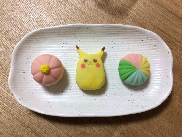sweets making wagashi