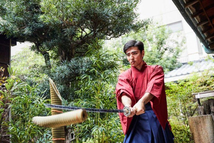 samurai sword cutting