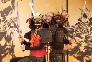 samurai armor costume trial