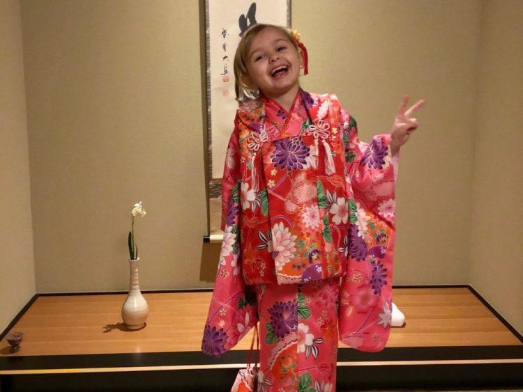 kids kimono family