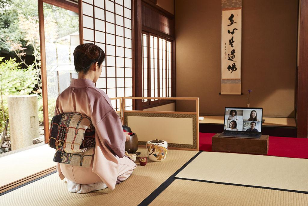 Online virtual Tea Ceremony Lesson