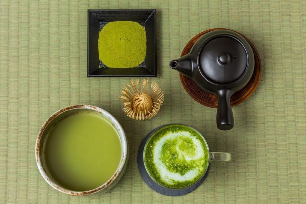 online virtual tea ceremony matcha set