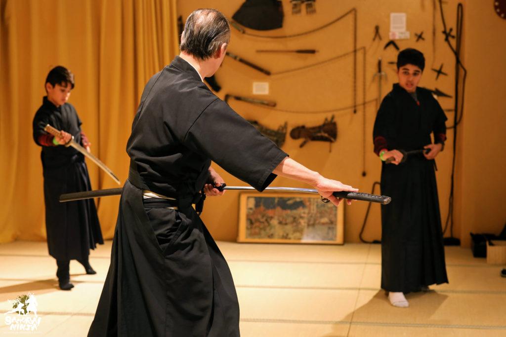 samurai katana sword experience kyoto museum