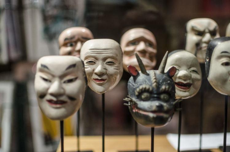 Máscaras Kabuki
